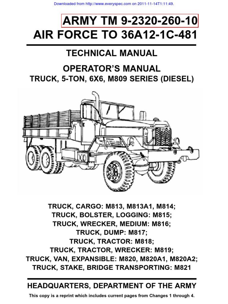 m817TM_209-2320-260-10 | Truck | Trailer (Vehicle) on
