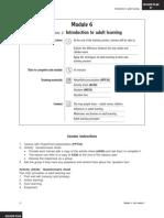 Training Materials Voluntary Module6 2