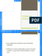 Formula Editorial