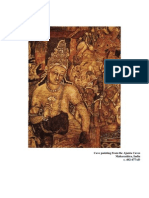Painting from the Ajanta Caves