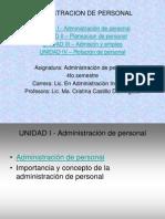 Admin is Trac Ion de Personal 4to Semestre