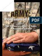 Army Profession of Arms 07OCT