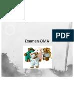 Examen OMA
