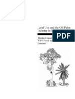 Oil Palm and Land Use
