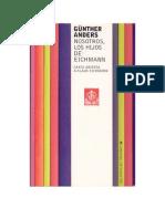 AndersGunther Nosostros Los Hijos de Eichmann