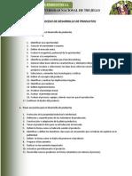 Proceso de Desarrollo de Productos 4