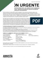 Amenaza contra Comité Cerezo (R033) 24107211.aus (AU 334-11 México)