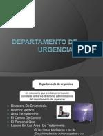 Departamento de urgencias.