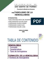 Metabolismo de La Hb
