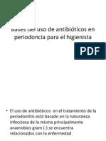 Bases del uso de antibióticos en periodoncia para