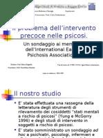 Early Intervention nelle psicosi (presentazione)