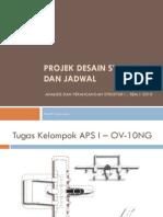 1 Design Project Dan Jadwal APS I 2010
