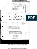 Air Force Glider Program History