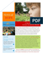 Project Hope Foundation Newsletter April 2010