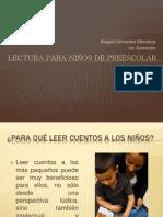 LECTURA PARA NIÑOS DE PREESCOLAR