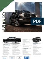 2012 Ridgeline Fact Sheet