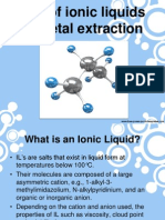 Ionic Liquids in Metal Extraction.