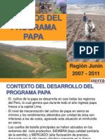 Impactos Del Programa Papa y Harina de Papa