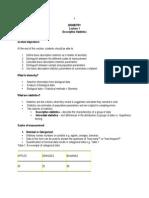 Biometry Manual 2009