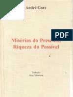 GORZ, André_ Misérias do Presente