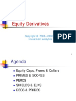 Derivatives > Equity Derivatives