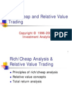 Fixed Income > Bond Trading 1999 - Rich-Cheap & Relative Value