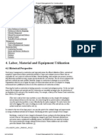 Project Management for Construction_ Labor, Material and Equipment Utilization