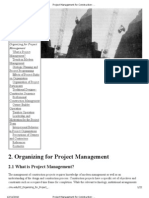 Project Management for Construction_ Organizing for Project Management