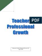 Teach Prof Growth