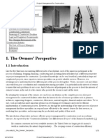 Project Management for Construction_ the Owners' Perspective