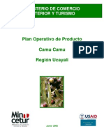Pymex Camu Plan Operativo Ucayali