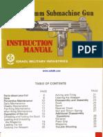 UZI SMG Manual