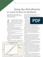 Identify Distribution of Data