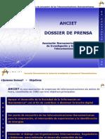 Dossier Prensa AHCIET