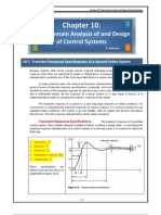 Files 2-Chapters 10 5 Transient Response Specifications