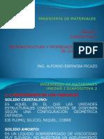 U-1 Ing de Matls Microest y Props Mec de Los Matls