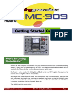 MC 909 Gettingstarted