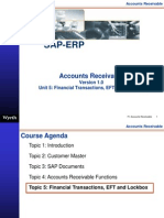 SAP Accounts Receivables Financial Transaction