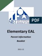 EAL Parent Booklet