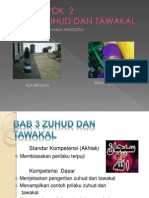 Bab 3 Zuhud Dan Tawakal