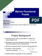 MarineFunctionalFoodsroleinprotectionagainstColorectal Cancer CRC