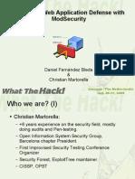 Wth Slides Mod Security