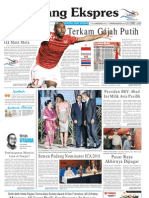 Koran Padang Ekspres | Senin, 14 November 2011.