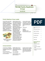 Family Readiness Group November 2011 Newsletter