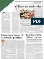Economic Base Electoral