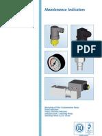 Filter Maintenance Indicator