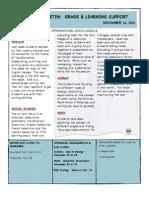 Weekly Bulletin 11.14.11