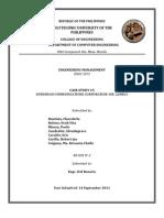 CASE STUDY #5 KUNDIMAN COMMUNICATIONS CORPORATION