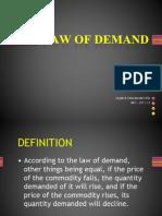 Law of Demand (Saumya) 2007