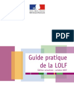 Guide Pratique de La LOLF